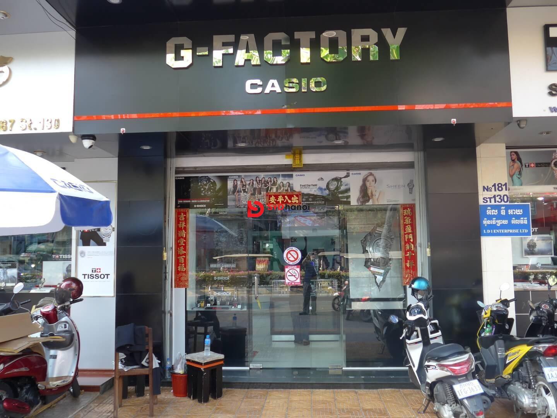 Mẫu biển quảng cáo cửa hàng đồng hồ